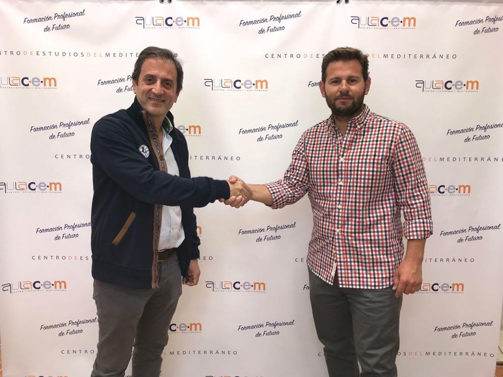 Acuerdo de patrocinio entre Aulacem y CVbE