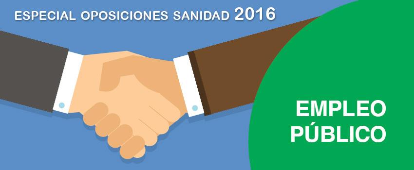 oposiciones sanidad 2016