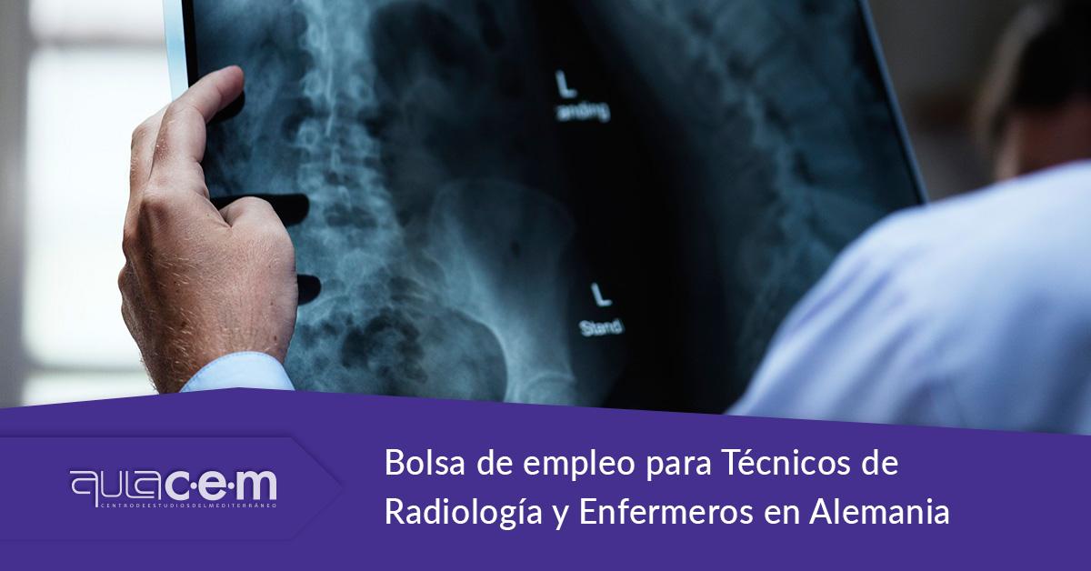 Bolsa de empleo para Técnicos de Radiología y Enfermeros en Alemania