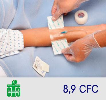 Cuidado de las vías y sondas a pacientes hospitalizados