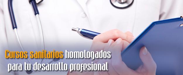 Cursos sanitarios homologados CFC