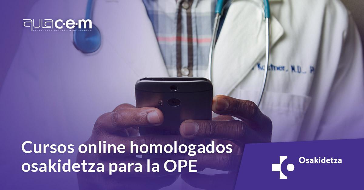 Cursos online homologados osakidetza para la OPE