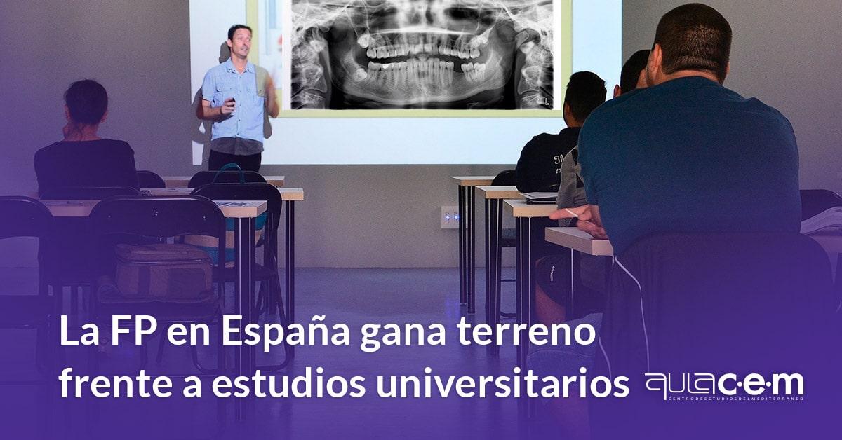 La Formación Profesional en España gana terreno frente a los estudios universitarios