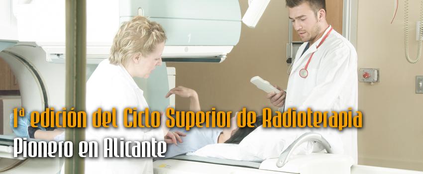 Primera edición ciclo de Radioterapia